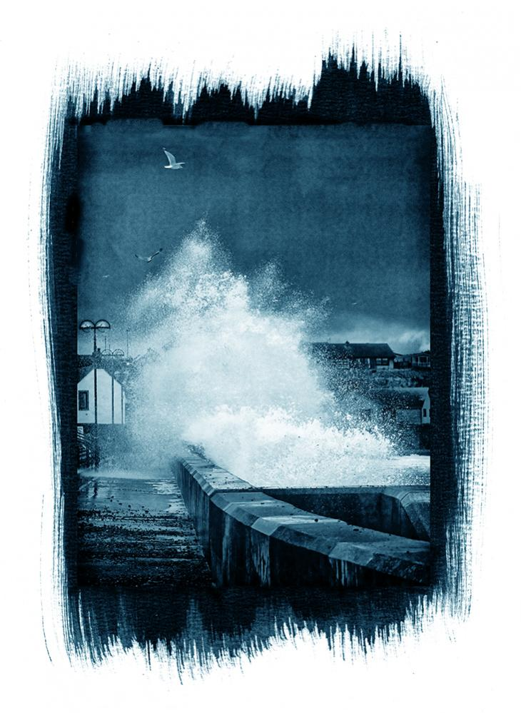Name:  Storm over Eyemouth (Digital Cyanotype).jpg Views: 109 Size:  106.7 KB