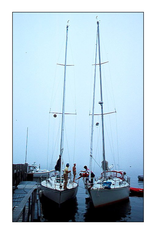 Name:  Port Clyde,Maine,fog,sailboats .jpg