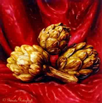 Still Life with Artichokes #1 - 1999
