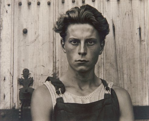 Young Boy, Gondeville, Charente, France, 1951 by Paul Strand
