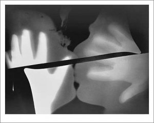 Rayography [Kiss] - Man Ray 1922