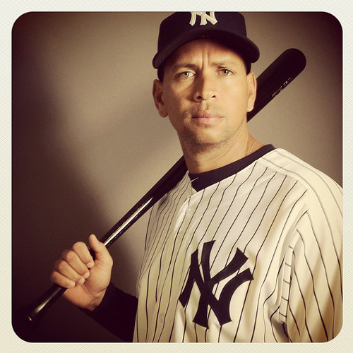 Alex Rodriguez - Instagram photo by Nick published in The New York Times.