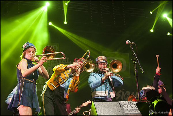 Mucca Pazza at the Montreal Jazz fest