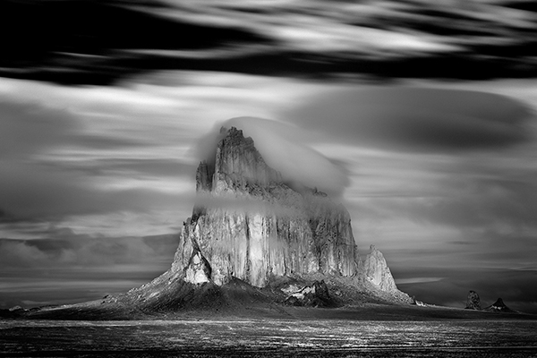 Shiprock Storm by Mitch Dobrowner