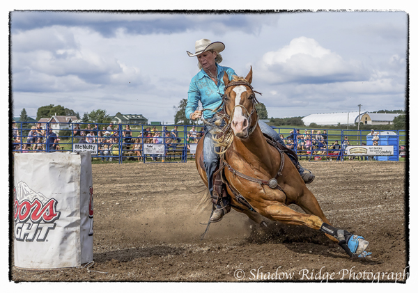 Rodeo Action by Hillbillygirl
