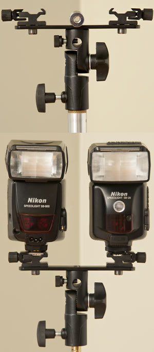 PhotoRepublik Twin Speedlite Holder