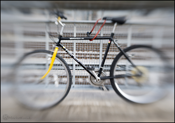 Norco Bicycle shot with the Lensbaby Composer