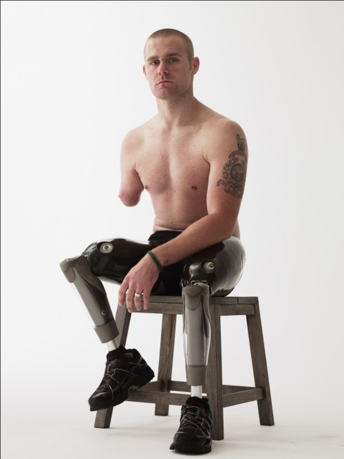 Wounded Mark Ormrod © Bryan Adams