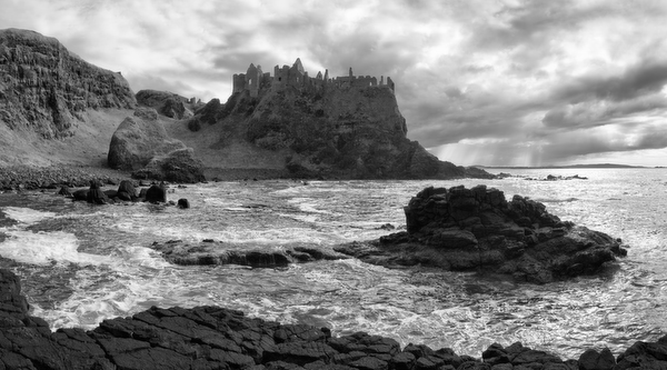 Dunluce Castle, Antrim, Northern Ireland, 2012 by Bret Culp