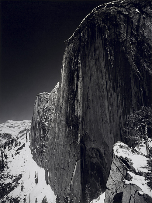 Monolith, The face of Half Dome by Ansel Adams
