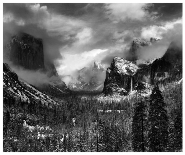 Clearing Winter Storm (1938) by Ansel Adams