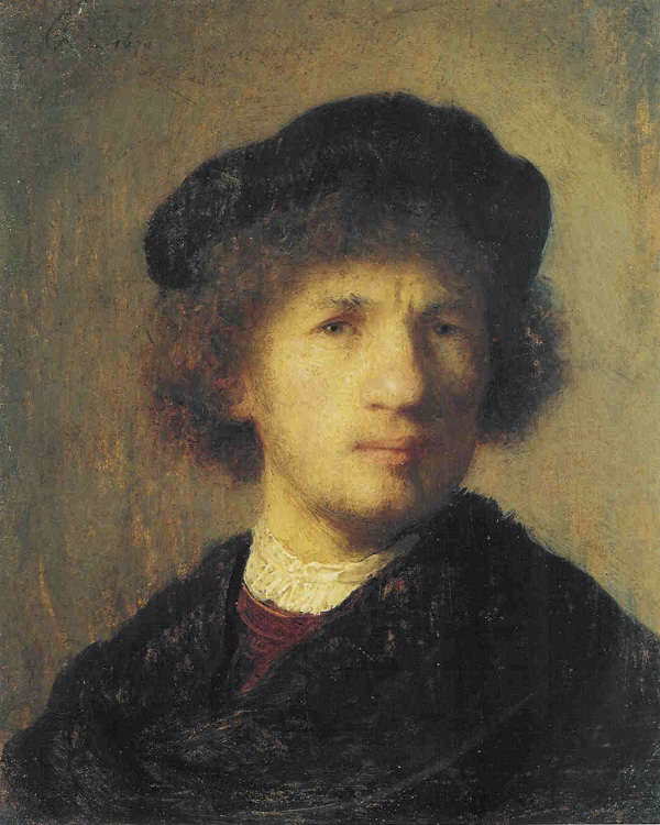 Rembrandt - Self-Portrait - 1630