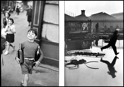 Street photography by Henri Cartier Bresson