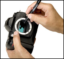 Cleaning cameras lenses and camera sensors